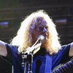 Vocalista de Megadeth anuncia que padece cáncer de garganta