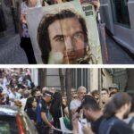 Cientos de seguidores de España y América Latina dan el último adiós a Camilo Sesto, en Madrid