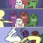 Los que fallecieron en el 2019