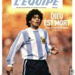 Las portadas tras la muerte de Maradona