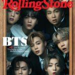 BTS en la portada de Rolling Stone