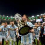 Las fotos de Leo Messi campeon Copa America