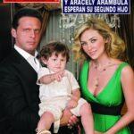 Luis Miguel y Aracely Arambula esperan 2do hijo