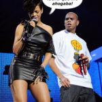Brown ahorco a Rihanna en pelea