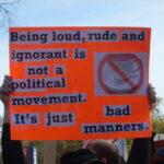 Marchan por la cordura de sus politicos y medios