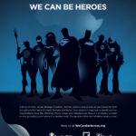 Warner lanza campaña de superheroes para Africa
