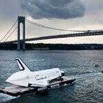 Se estrella el transbordador espacial Enterprise