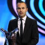 Andrés Iniesta nombrado el mejor jugador de la UEFA