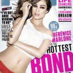 Bérénice Marlohe la chica Bond en la revista FHM