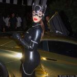 Kim Kardashian en su disfraz de Gatubela