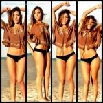 Frida Sofia la hija de Alejandra Guzman en Bikini