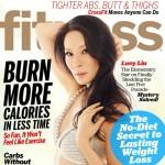 La actriz Lucy Liu poso para la revista Fitness