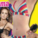 Esmeralda Ugalde la hermana de Ana Barbara en bikini