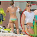Vanessa Huppenkothen en bikini