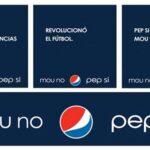 Pepsi en Argentina le dice no a Mou, si a Pep