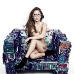 Lady Gaga da a conocer fotos de su nuevo album Artpop
