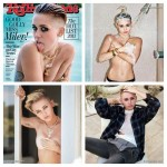 Miley Cyrus posa para la RollingStone