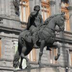 Confirma INAH daños irreversibles en estatua 'El Caballito'