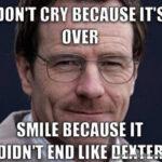 Dexter y el gran final que nos dieron para luego quitarnoslos