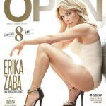 Érika Zaba de OV7 poso para la revista Open