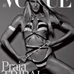 Candice Swanepoel revista VOGUE Brasil