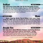 Cartel Coachella 2014 con Outkast, Arcade Fire y Muse