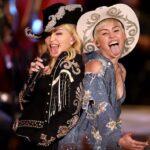 Foto de Madonna y Miley Cyrus de su unplugged