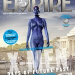 Jennifer Lawrence como Mystique en portada