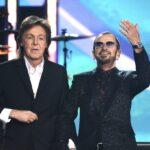 Revive la reunion de Paul McCartney y Ringo Starr en los Grammy