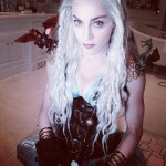 Madonna como Daenerys Targaryen