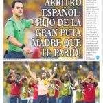 Asi reaccionaron en Colombia contra el arbitro