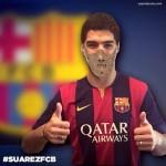 FC Barcelona contrata al desquiciado de Luis Suarez