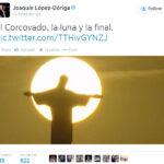 Lopez-Doriga confunde la luna con el sol