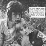 Marianne Faithfull sabe quien mato a Jim Morrison
