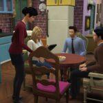 Recrean serie Friends en The Sims 4