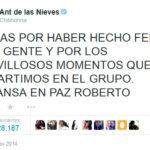 Asi se despidio Maria Antonieta de las Nieves de Chespirito