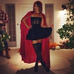 Asi se disfrazo Lea Michele para Halloween