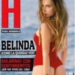 Belinda posó para la revista H de diciembre