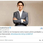 Esteban Gutierrez firma con Ferrari, pero de suplente