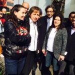Esto dijo Carmen Aristegui a las afueras de MVS el dia de hoy