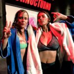 La pelea en aceite entre Arlene VS Irina de Turnocturno #miFantasia