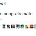 Rooney y Bale felicitan al Chicharito Hernandez