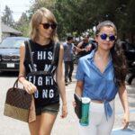 Taylor Swift y Selena Gomez salen a comer
