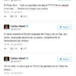 Carlos Albert e Ignacio Suarez le responden al Piojo