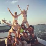 Jennifer Lawrence y Amy Schumer de vacaciones