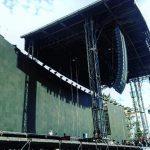 Asi se ve el montaje de Roger Waters en el foro Sol