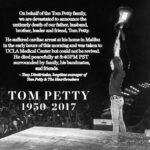 Ha muerto Tom Petty