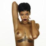 Salen a la luz fotos de Rihanna usadas para el Unapolegetic