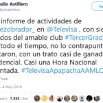 Televisa decide no cuestionar a Lopez Obrador